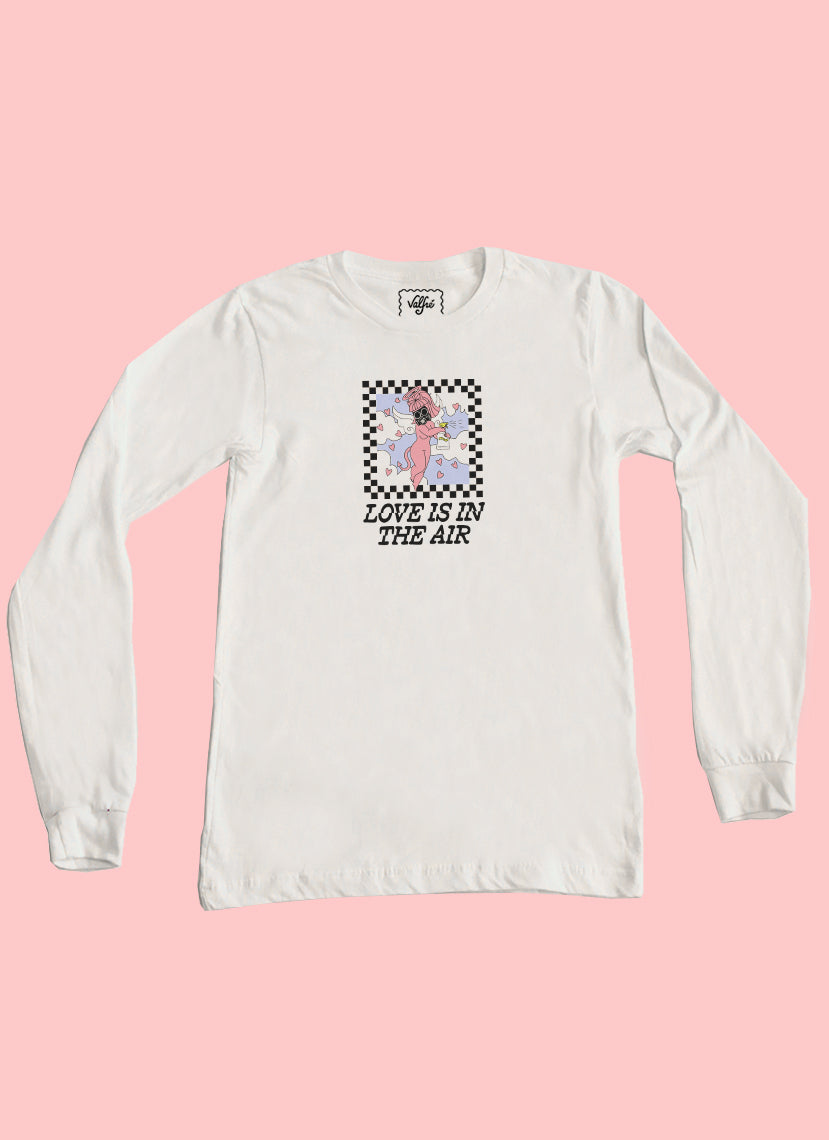 Love Is In The Air Long Sleeve Top