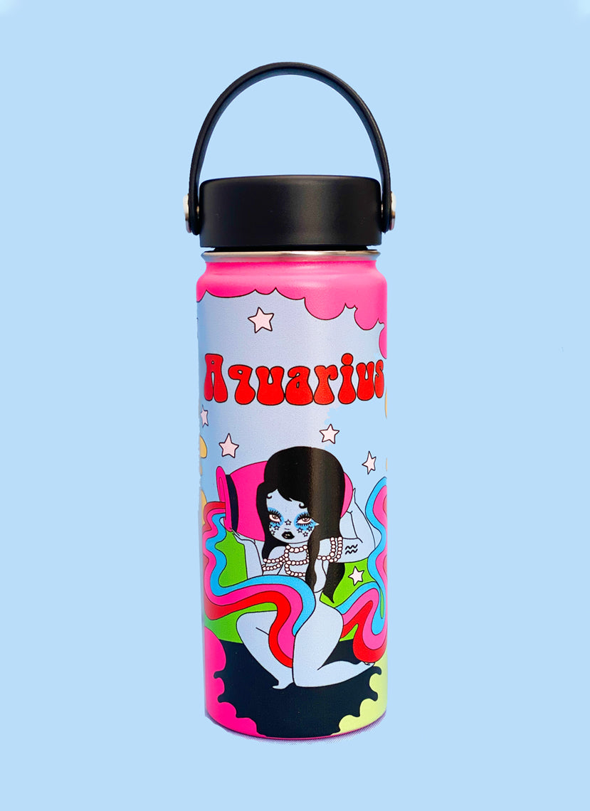 Aquarius Wonderland Water Bottle