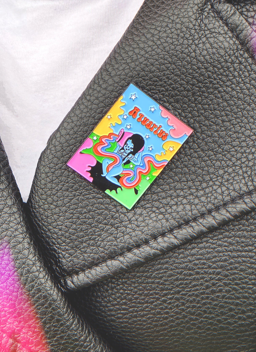 Aquarius Wonderland Pin