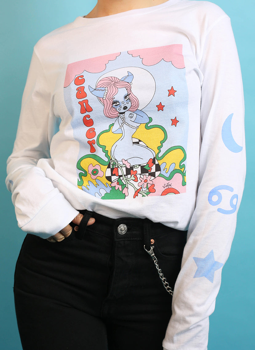 Cancer Wonderland Long Sleeve Tee