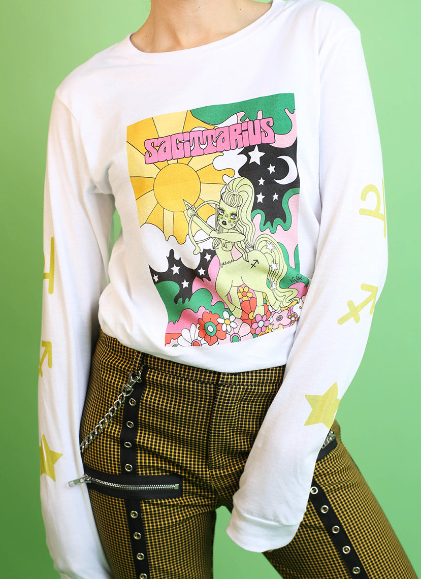 Sagittarius Wonderland Long Sleeve Tee