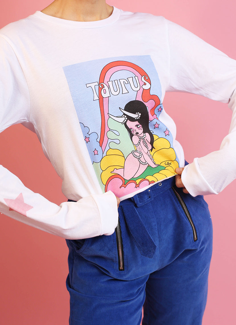 Taurus Wonderland Long Sleeve Tee
