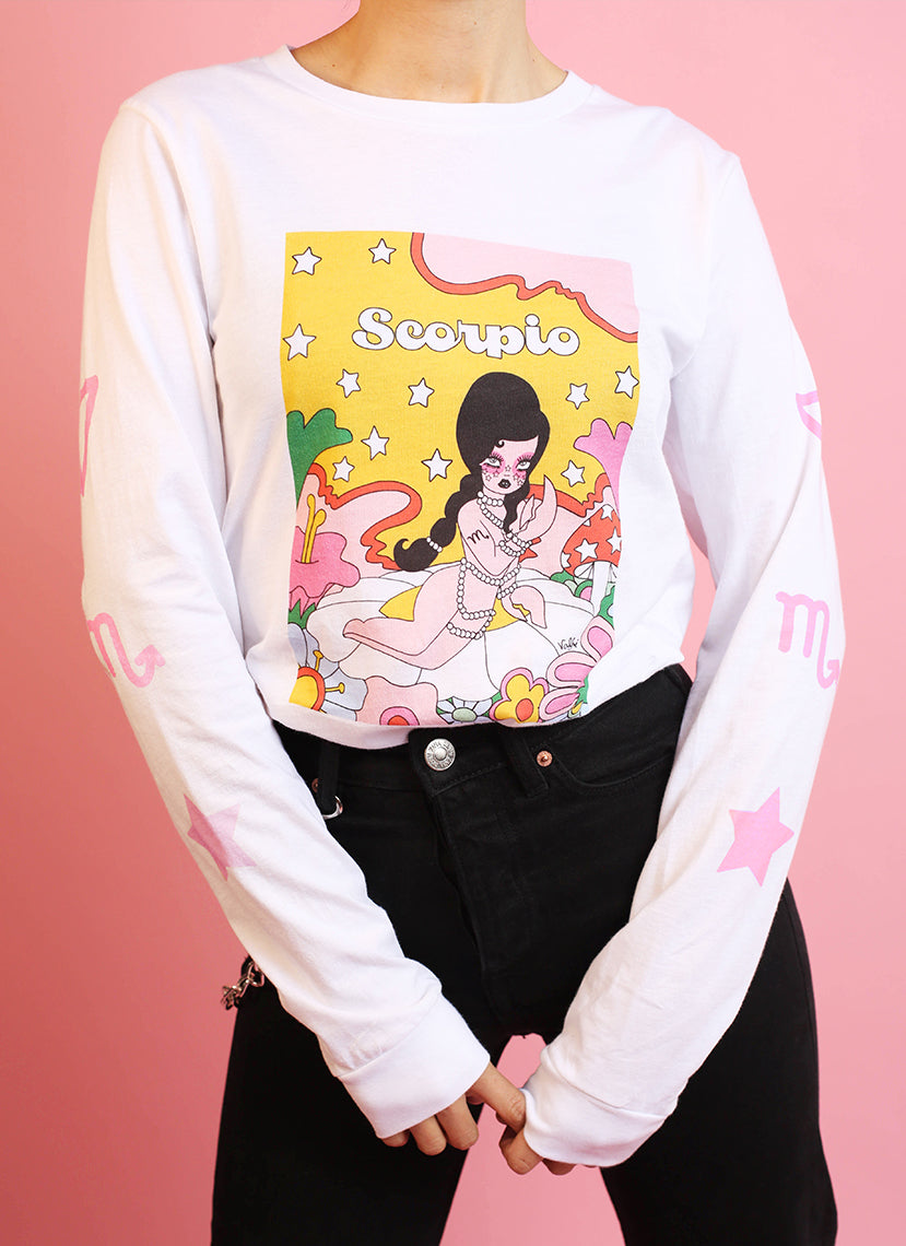 Scorpio Wonderland Long Sleeve Tee