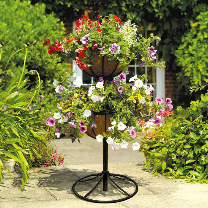 Georgian Style Flower Fountains