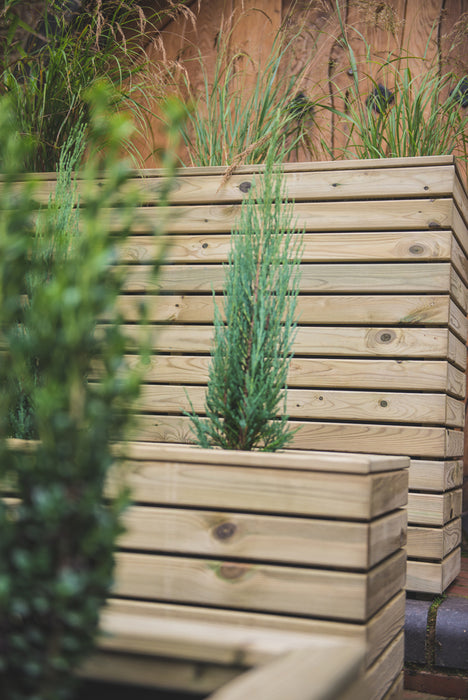 Tall Linear Planter