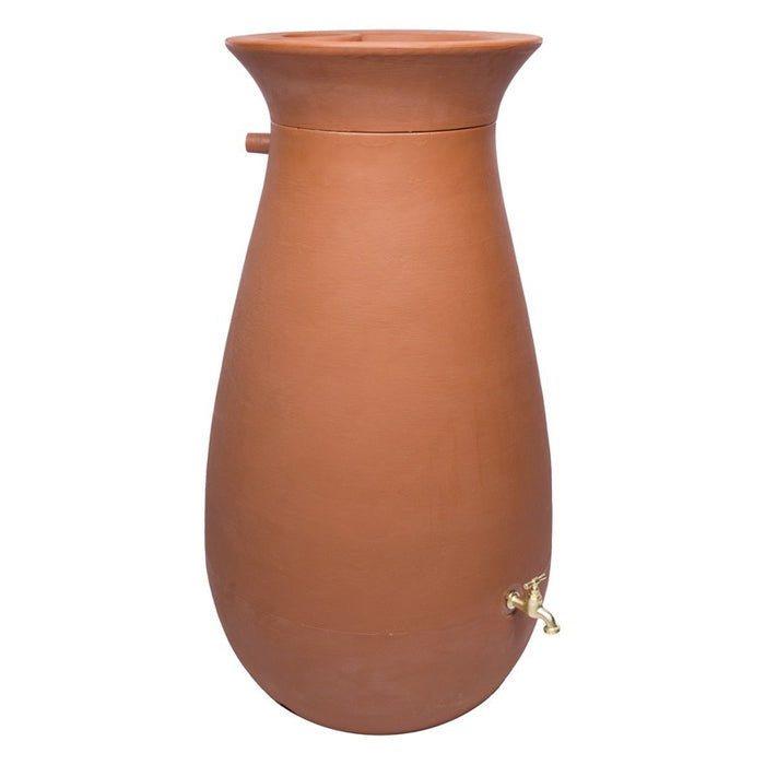 Cascata Clay Effect Water Butt 245 litre