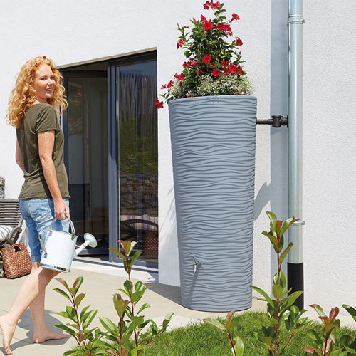 Natura Water Tank Plus Planter 350 litres