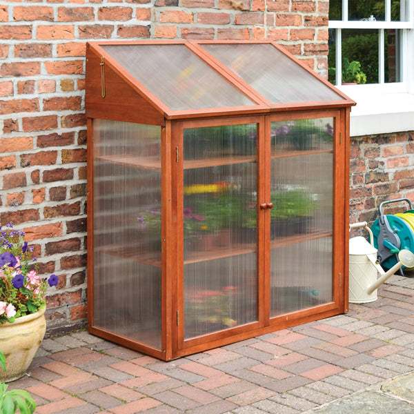 Rowlinson Hardwood Mini Greenhouse