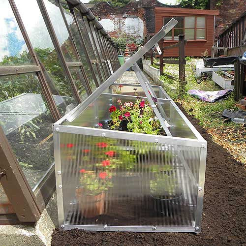 Modular Cold Frame complete with Extension