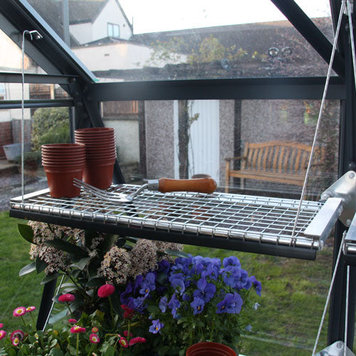 Greenhouse Integral Mini Shelf