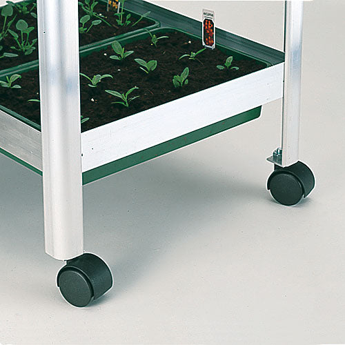 Set of 4 Castors for Versatile Shelving