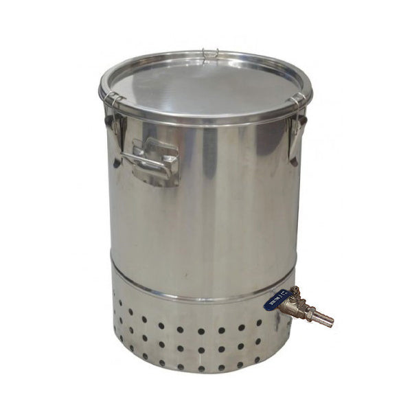 Deluxe Stainless Steel Bokashi Composter