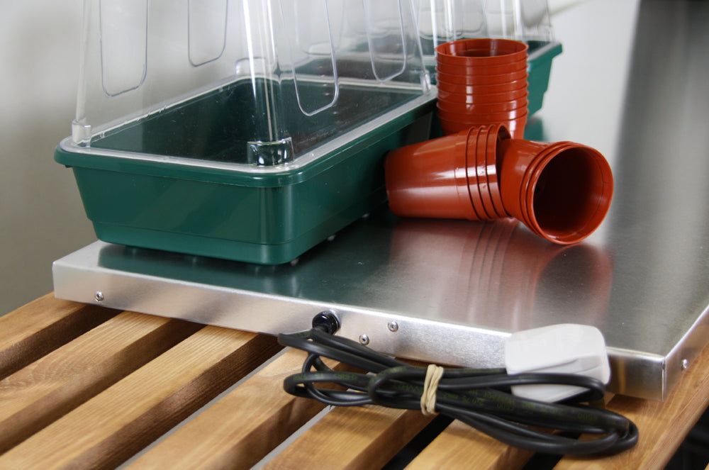 Seed Tray Rack Heated Tray