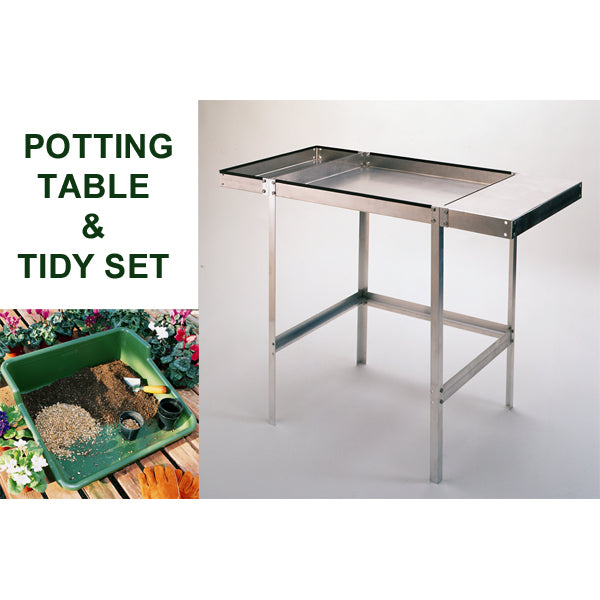 Potting Table and Tidy Set