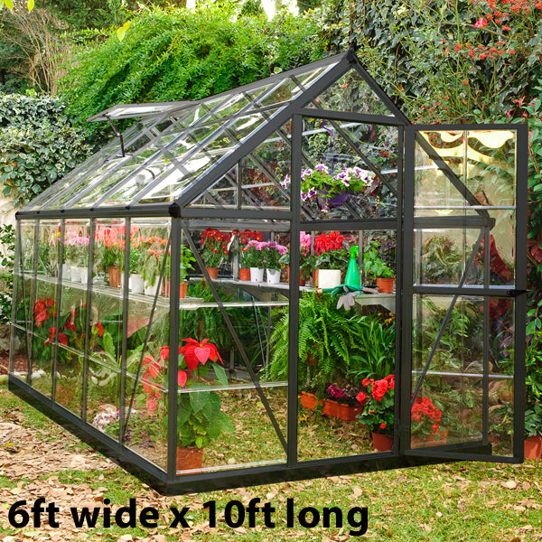 Palram Harmony Grey Greenhouse