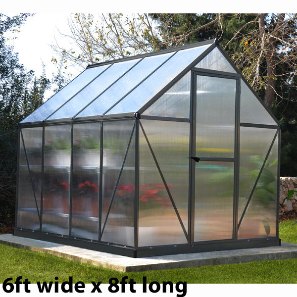 Palram Mythos Grey Greenhouse