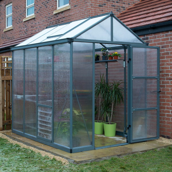 Palram Glory 6 x 8 Polycarbonate Greenhouse
