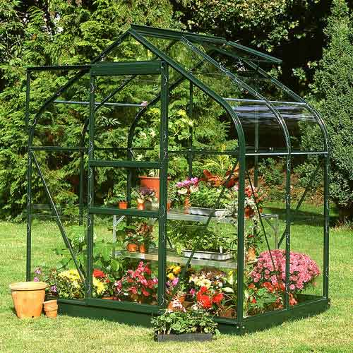 "Halls Supreme Greenhouse 6' 4"" Wide"