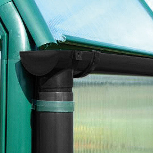 Rion Greenhouse Gutter & Downpipe Kit