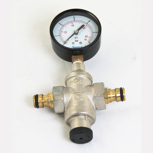 Mains & Pump Pressure Regulator and Gauge