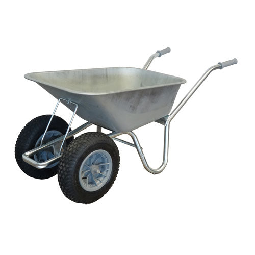 Steel Duo Carrier Wheelbarrow