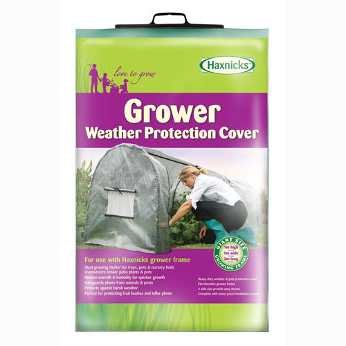 Haxnicks Grower Frame Polythene Cover