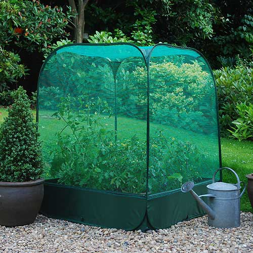 Large Raised Bed Pop Up Net Cover