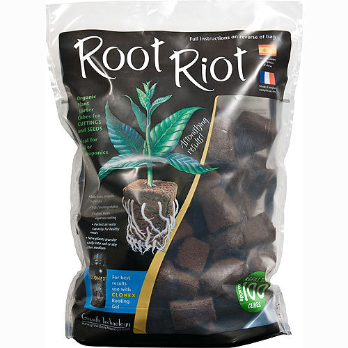 Root Riot Tray Refill Cubes pack of 100