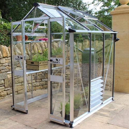 "Eden Birdlip 4'10"" Wide Greenhouse"