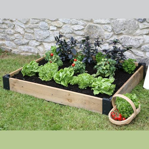 Haxnicks Timber Raised Bed Base