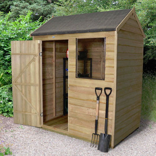 Forest 6x4 Overlap Reverse Apex Shed