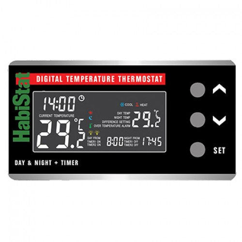 Digital Day & Night Thermostat with Timer