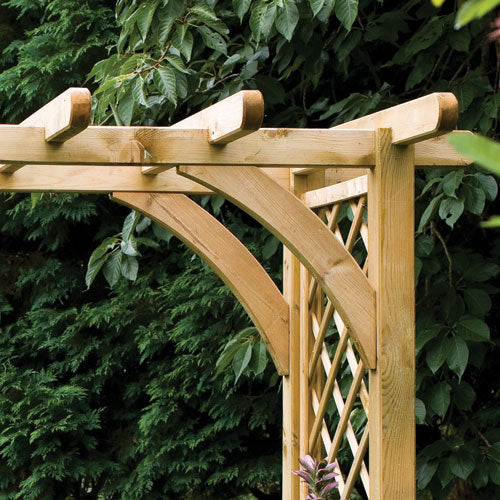 Large Ultima Pergola Timber Arch