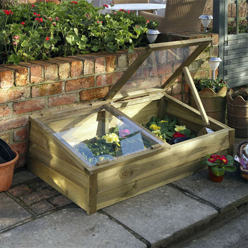 Large Wooden Overlap Cold Frame