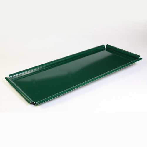 "Green Stepped Display Staging Tray 21"" x 8"