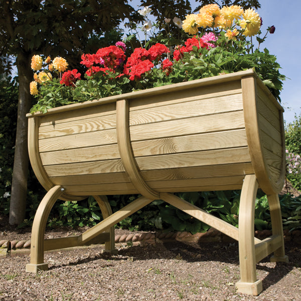 Rowlinson Marberry Barrel Planter
