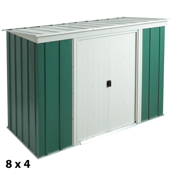 Rowlinson Greenvale Metal Pent Sheds