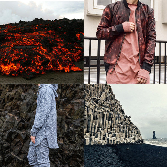 Clothing Design Inspired By The Nature Of Iceland Inklaw Clothing