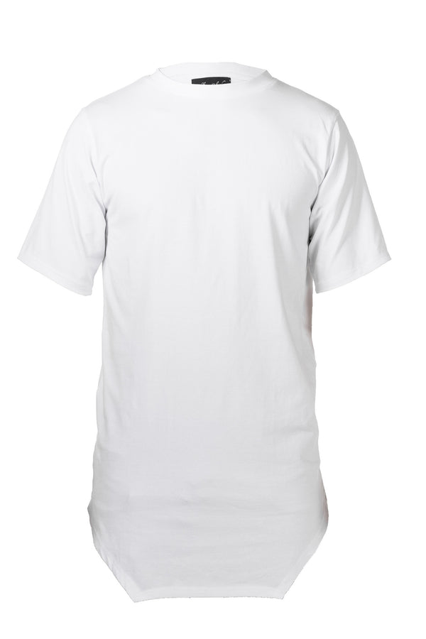 COTTON JERSEY T-SHIRT - WHITE