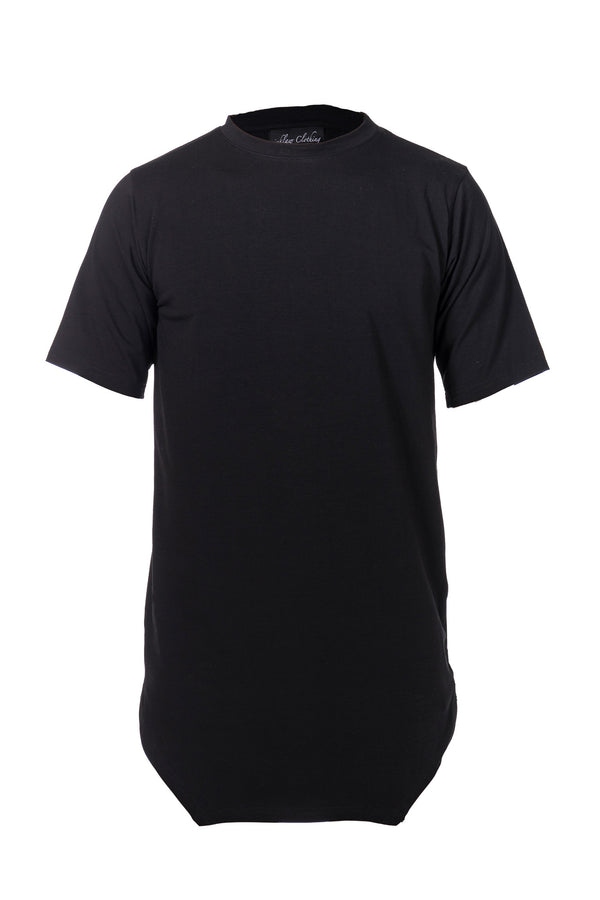 COTTON JERSEY T-SHIRT - BLACK