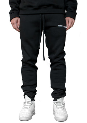 INKLAW ESSENTIAL SWEATPANTS - BLACK