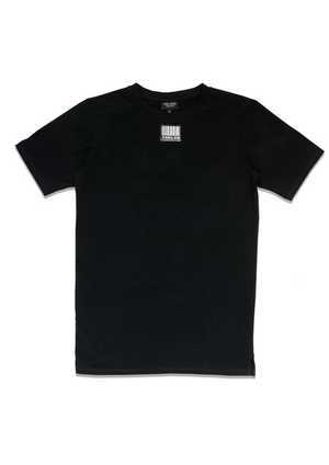 1 OF 10 BLACK BARCODE T-SHIRT