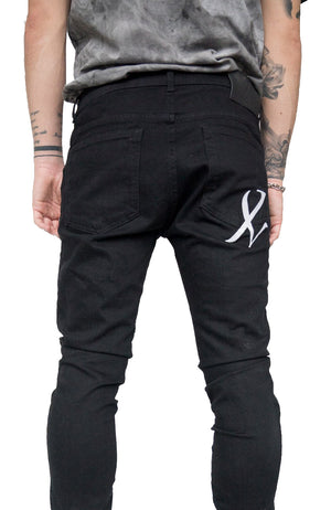ONYX DENIM - BLACK