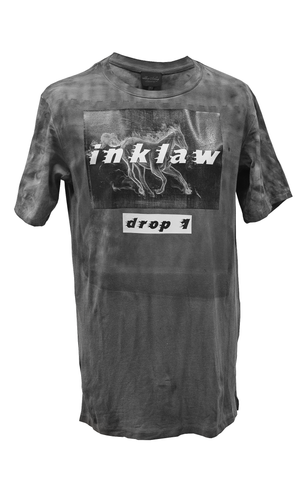 1/10 LIMITED DROP1 T-SHIRT - BLACK WASHED