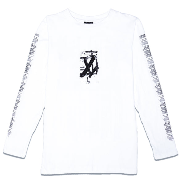 ONYX TEAR LONG SLEEVE - WHITE