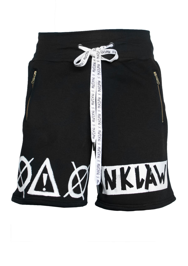 INKLAW PAINTED SHORTS