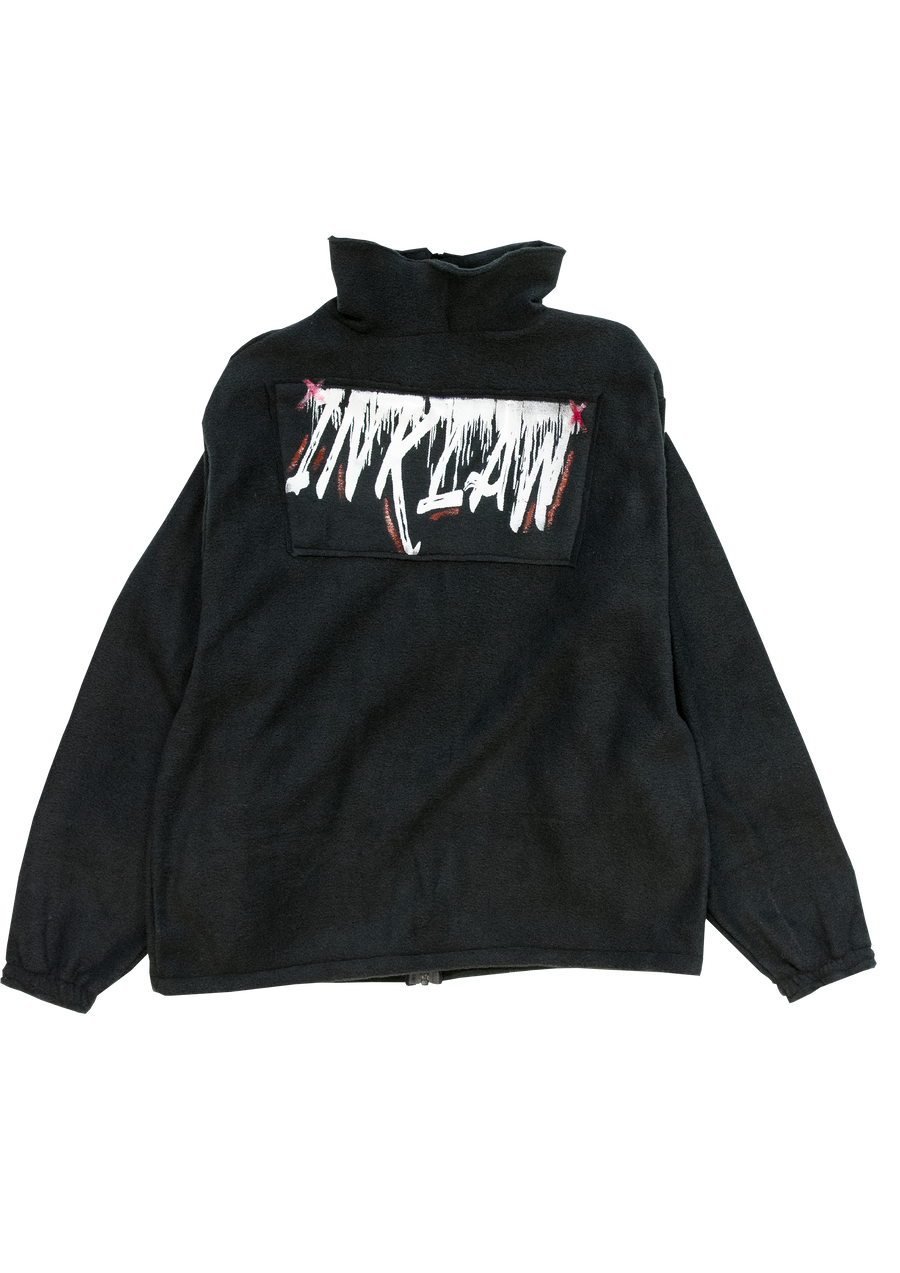 1 OF 10 INKLAW PRINT SHERPA JACKET