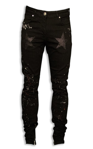 1 OF 5 STAR PAINTERS DENIM - SILICONE WASHED