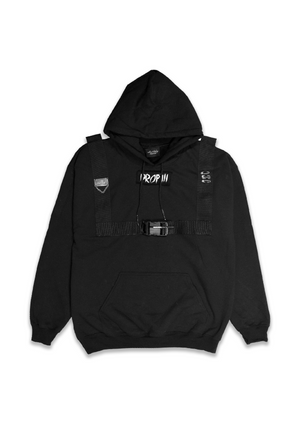 1 OF 10 TACTICAL HOODIE - BLACK
