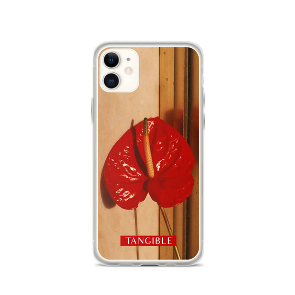 """RED PHALLIC FLOWER"" - Photo Print IPHONE CASE"
